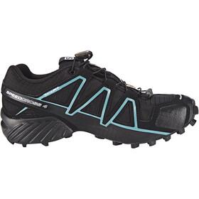 Salomon Speedcross 4 GTX Shoes Dame black/black/metallic bubble blue
